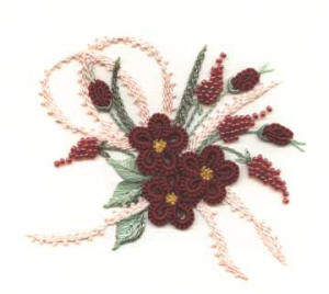 Blackberry Lane Brazilian Embroidery Design Wild Roses