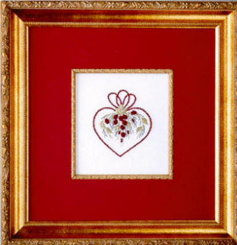 Brazilian Embroidery From Blackberry Lane HEARTS andROSES�By Delma Moore  BL 122