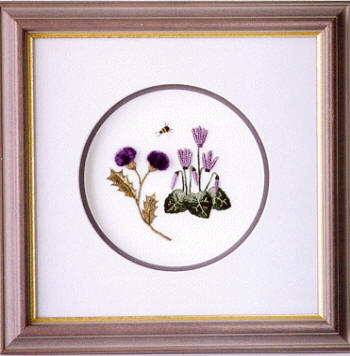 BL 125 THISTLE DOWN Brazilian Embroidery Pattern