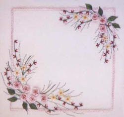 Brazilian Embroidery From Blackberry Lane SUMMER ROSES By Delma Moore BL 136