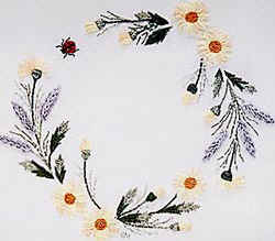 Brazilian Embroidery From Blackberry Lane: BL 138 Sunshine Daisies