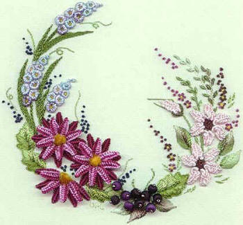 Brazilian Embroidery From Blackberry Lane: BL 140 Summer Garden