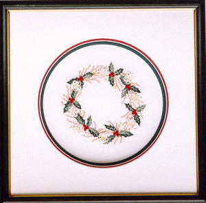 Brazilian Embroidery Christmas Design