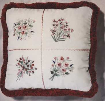 Brazilian Embroidery From Blackberry Lane: SAMPLER BLOCK 1 By Delma Moore, BLT101