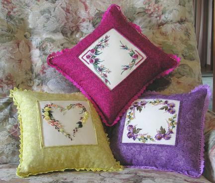 Purple Daisy - Brazilian dimensional embroidery pattern