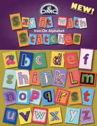 Say It With Stitches Iron-on alphabet transfers