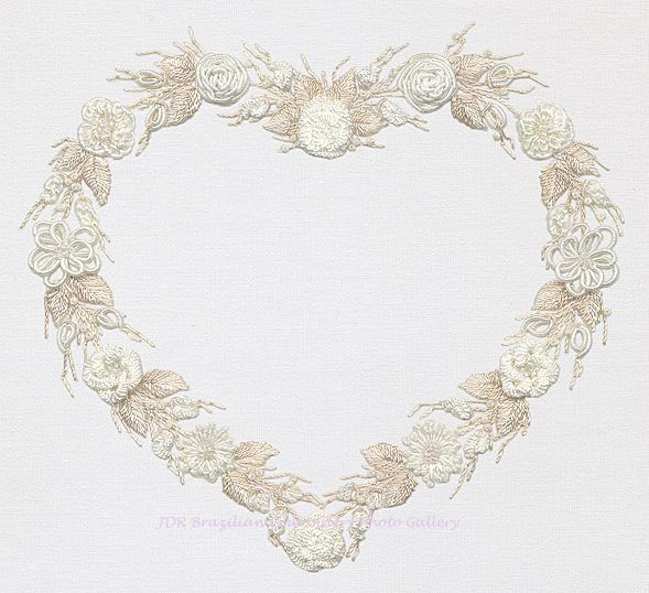 Design embroidery wedding « origami