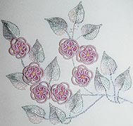 Cherry Blossom Spring Brazilian Embroidery