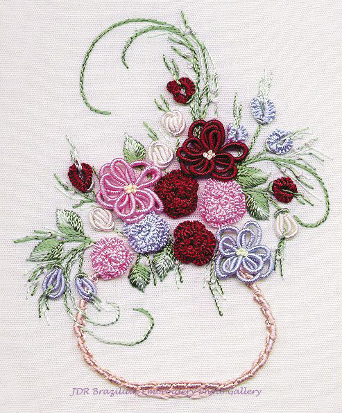 BRAZILIAN EMBROIDERY STITCHES