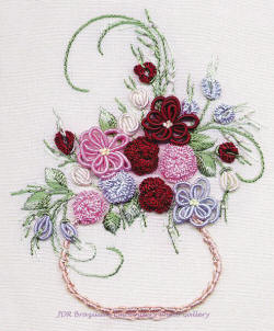 Brazilian Embroidery Design Centerpiece ED 1035