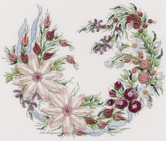 Free silk ribbon embroidery patterns « origami