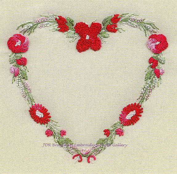 Country Heart ED 1514 Brazilian Embroidery Design