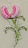 Jasmine - Brazilian dimensional embroidery pattern