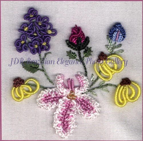 Embroidery Stitches - YouTube