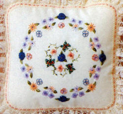Roses & Butterflies Brazilian Embroidery Pattern