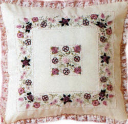 Formal Garden Brazilian Embroidery design