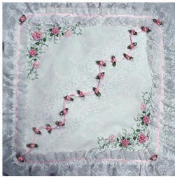 Brazilian Embroidery Pattern: Spring Dreams