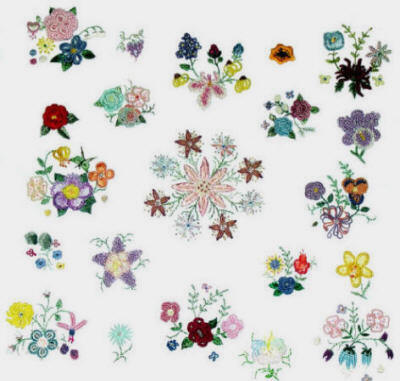 Brazilian Dimensional Embroidery Pattern Gallery 3