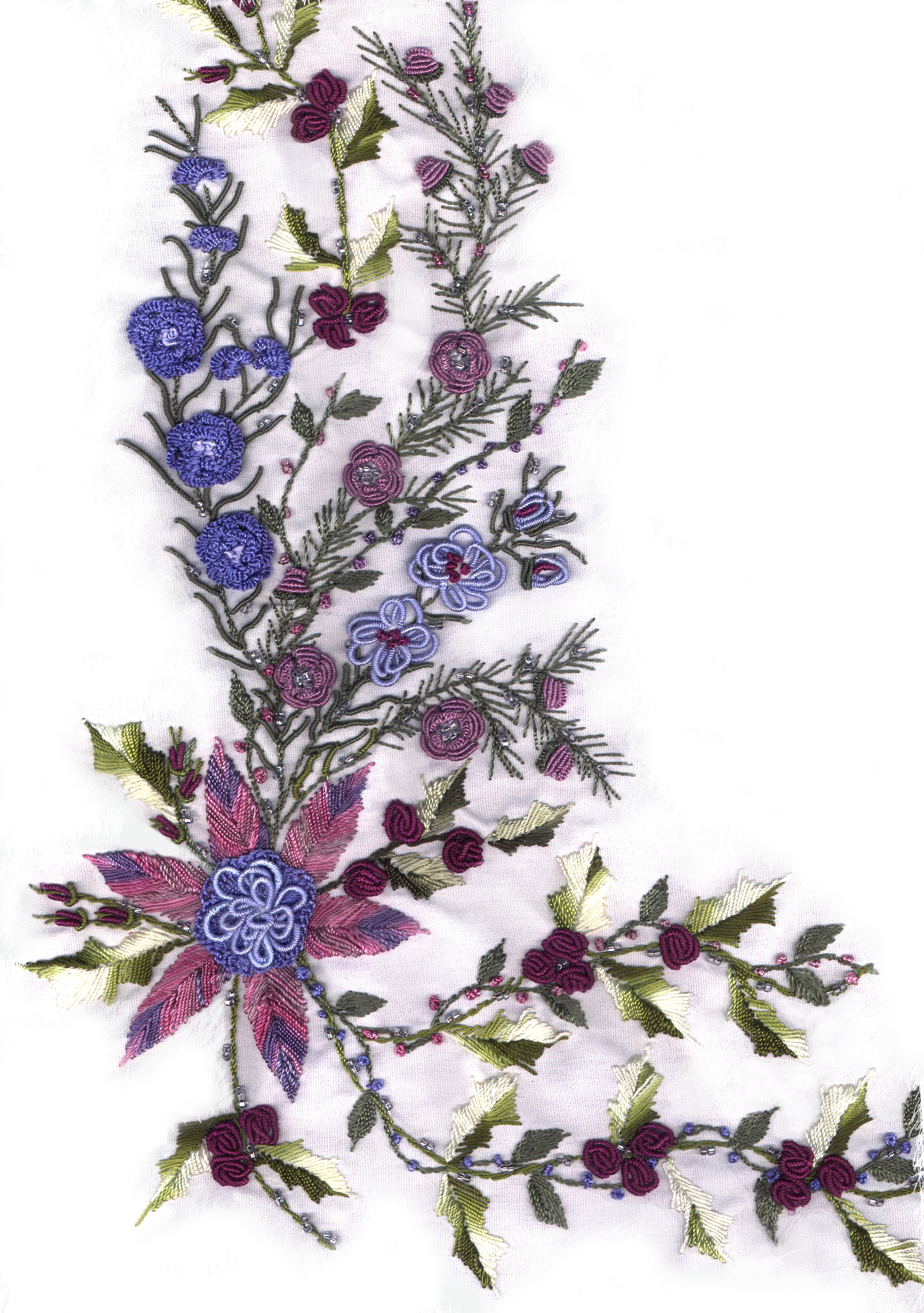 Brazilian Embroidery Christmas Patterns Jdr 6047