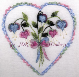 JDR 6109 Ann's Sweetheart Bells Heart
