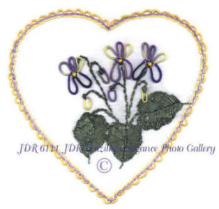 JDR 6111 Heart of Violet