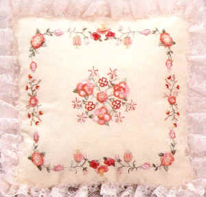 Brazilian Embroidery Patterns  Primrose and Camellia