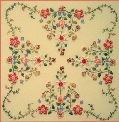 Garden Embroidery Design Native Garden Design