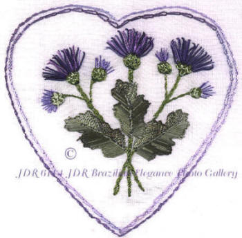 JDR 6114 Helen's Heart of Thistle Flowers