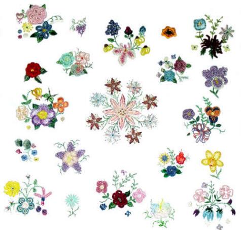 Brazilian Embroidery Pattern The Flower Shop Jdr 192