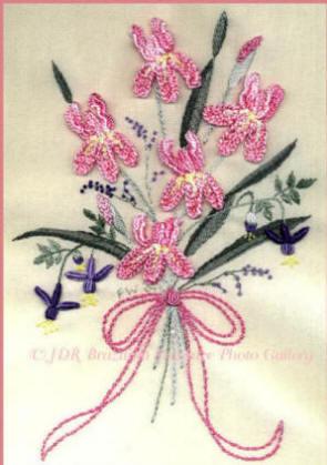 Embroidery Design Jdr 306iris