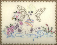 Brazilian Embroidery Pattern JDR 6015  Fairy Boat