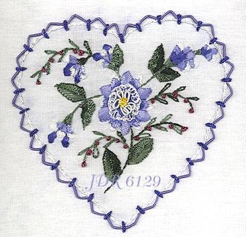 Hearts Flowers Brazilian Embroidery Designs Brittany S Delphinium