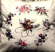 Mary�s English Flower Garden Brazilian Embroidery Design