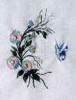 Gerone Daisy and Butterfly Brazilian Embroidery pattern