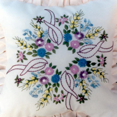 Spring Time Garden Brazilian Dimensional Embroidery pattern