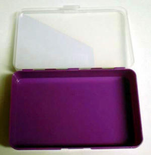 1 Compartment Plastic Mini Storage Container