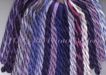 EdMar Thread Packet in Purples and Periwinkles