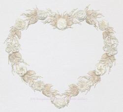 Brazilian Embroidery Design Wedding Wreath Ed 1019